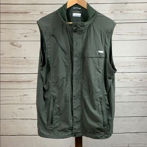 Columbia Button Up Fishing/Hiking Vest
